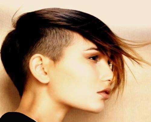 مدل مو کوتاه فشن دخترانه - سری 2019