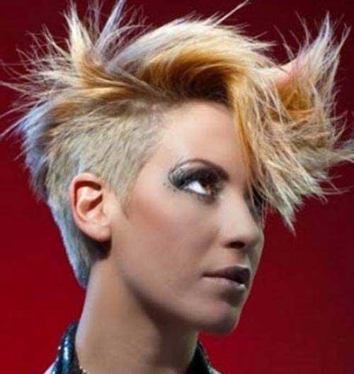 مدل مو کوتاه فشن دخترانه - سری 2014