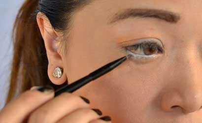 آرایش ساده ویژه زمستان (آموزش تصویری)