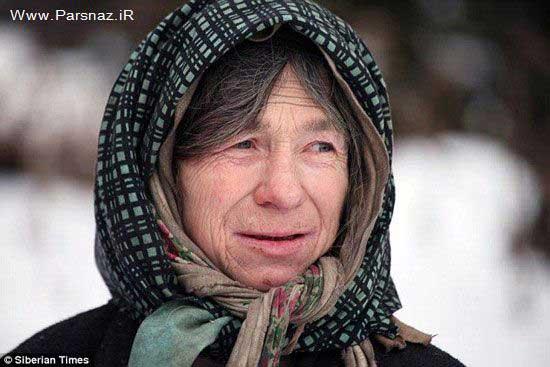 زندگی عجیب این خانم در کلبه تنهایی + عکس