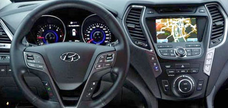 تصاویری از خودرو هیوندا سانتافه جدید یک آفرود XXL