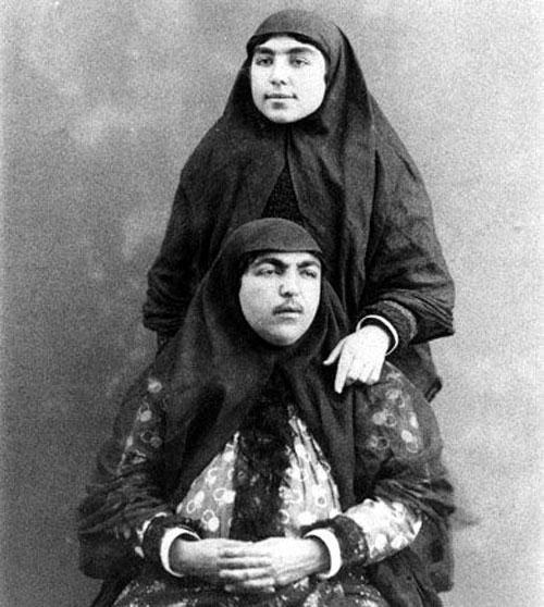 شاهزاده خانوم های ایرانی در دوره قاجار..!