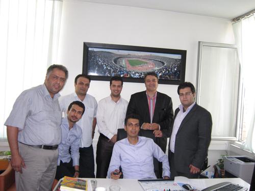 دفتر کار و همکاران فردوسی پور..(تصاویر)