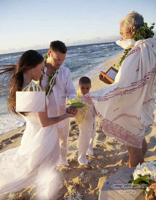 مراسم عروسی ساده ولی عاشقانه 2 بازیگر معروف هالیوود