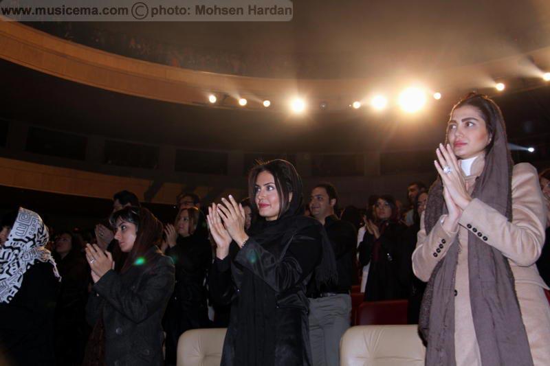 الناز شاکردوست در کنسرت رضا صادقی..(عکس)
