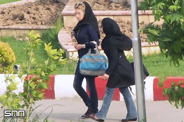 باز هم بدحجابی در دانشگاه آزاد..(تصاویر)
