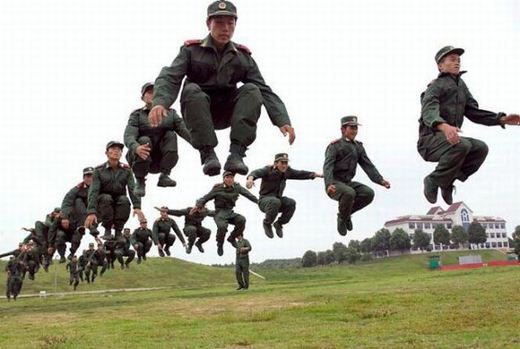تصاویر  نظامی (طنز)