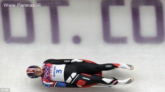 رقص جالب خانم ورزشکار در المپیک سوچی (عکس)