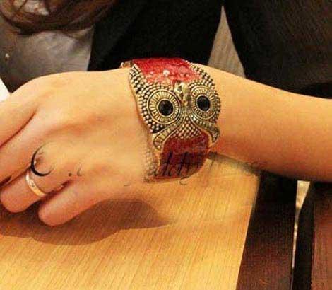 طرح دستبند اسپرت دخترانه در مدلهای جغد