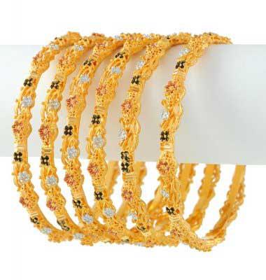 مدل النگو طلا هندی - سری اول