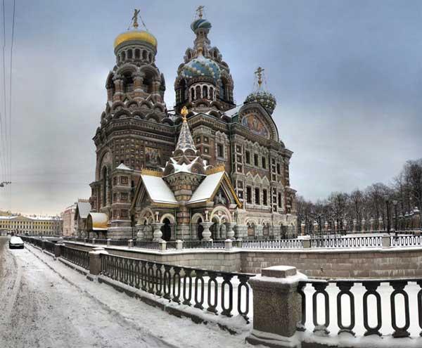 عکسهای دیدنی از مکان های گردشگری شهر سن پترزبورگ