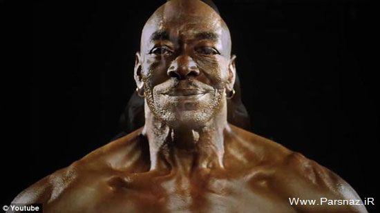 بدنسازی این مرد هیکلی 70 ساله (عکس)