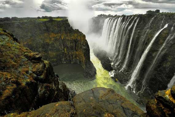 تصاویر دیدنی از زیباترین آبشارهای جهان