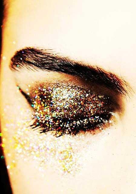 مدل آرایش چشم با سایه ترکیبی