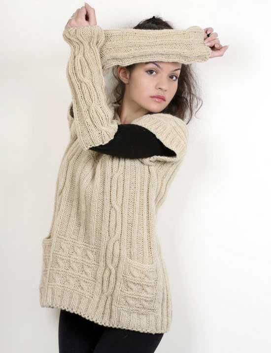 مدل لباس های شیک بافتنی زنانه