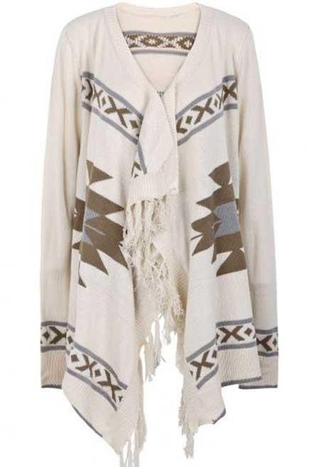 ست زیبای لباس با ژاکت بافتنی سری جدید