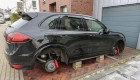 اتومبیل پورشه یک فوتبالیست به سرقت رفت (عکس)
