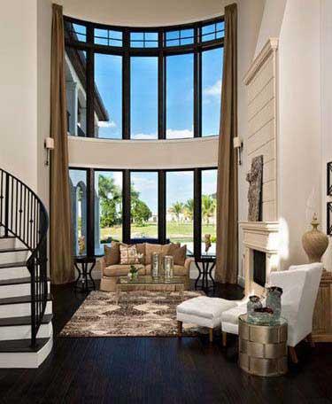 با پرده های بلند دکوراسیون خانه را زیباتر کنیم