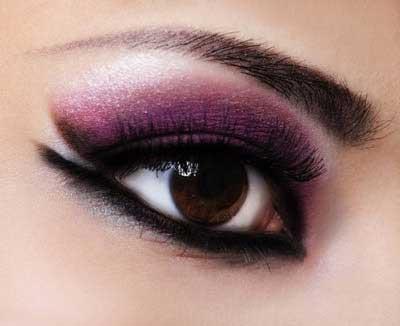 مدل های آرایش چشم – با رنگ سال ۱۳۹۳