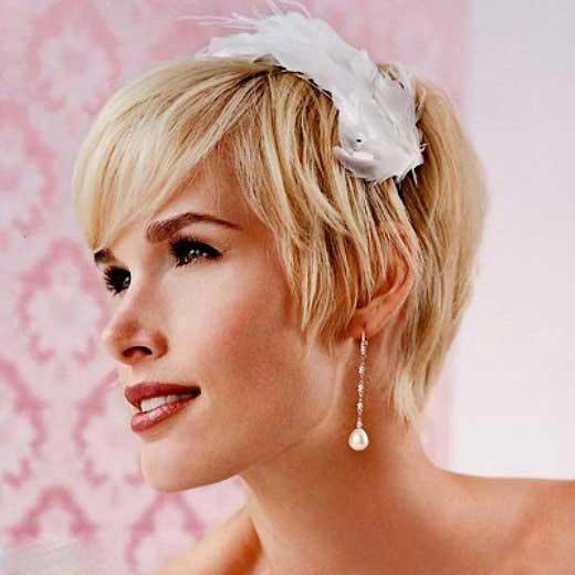 انواع ژورنال جدیدترین وشیک ترین مدل مو کوتاه عروس – سری جدید امسال