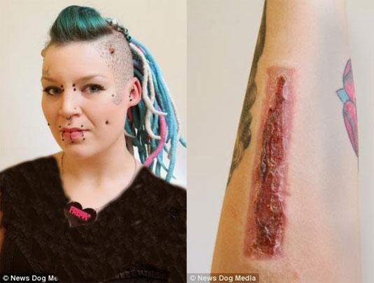 این زن از نامزد خیانت کار خود انتقام جهنمی گرفت (عکس)