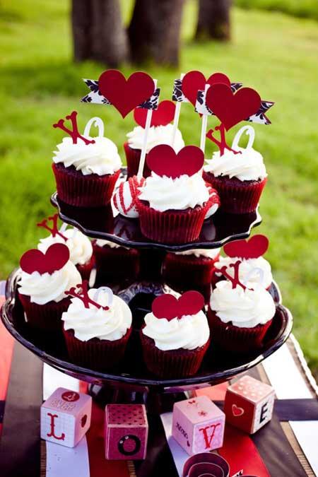 عکس های تزیین کیک و شیرینی ولنتاین