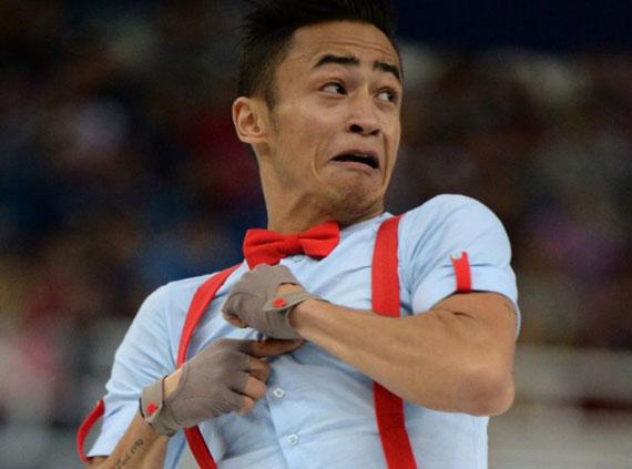 شکار لحظه های المپیک (عکس های خنده دار)
