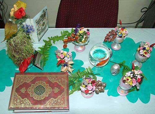 مدل سفره هفت سین - برای عید نوروز