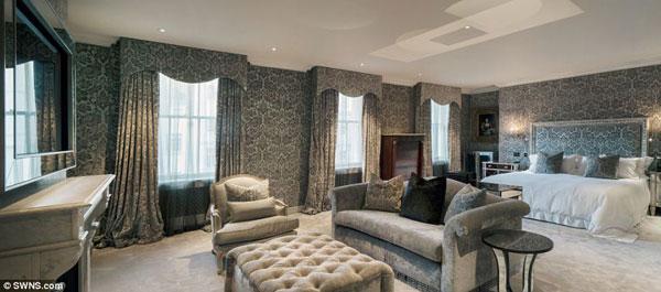 عکس هایی از گرانترین و لوکس ترین خانه در بریتانیا
