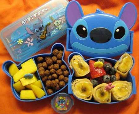 عکس هایی از مدل تزیین غذای کودکان