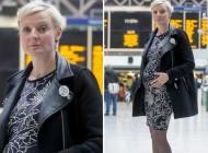 حرکت غیر انسانی مسافران با خانم باردار (عکس)