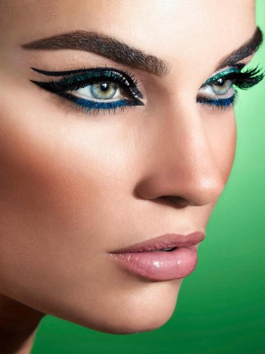 مدل زیبای آرایش صورت مخصوص عید نوروز 93