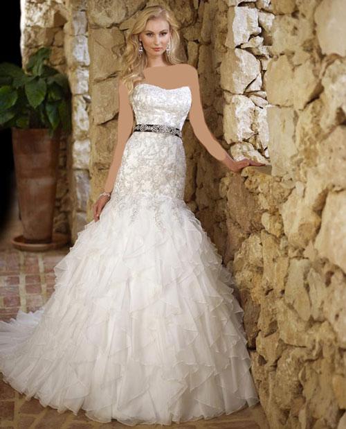 عکس لباس عروس 2014 سری اول