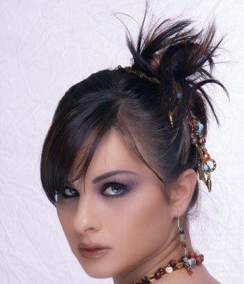 مدل شینیون مو سری 2014