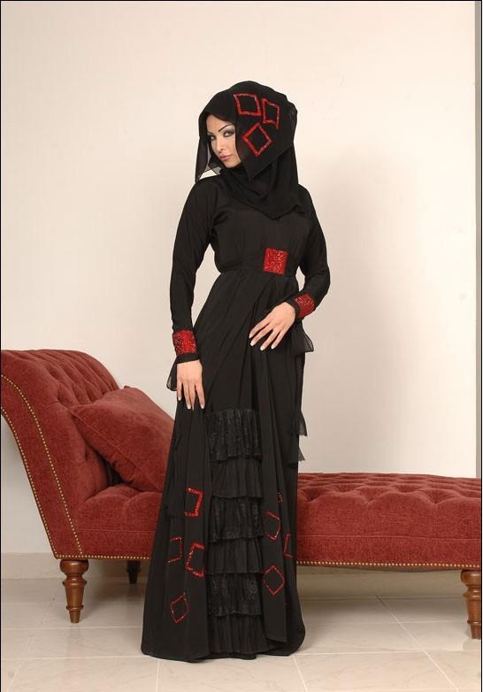 لباس مجلسی عربی با حجاب