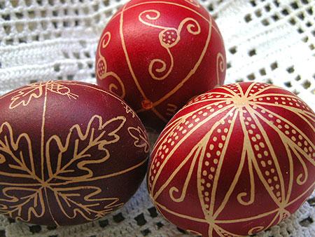 مدل تخم مرغ رنگی هفت سین عید 97