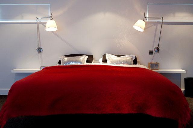 مدل دکوراسیون چیدمان اتاق خواب عروس و داماد