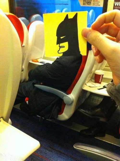 عکسهای طنز و خنده دار در قطار