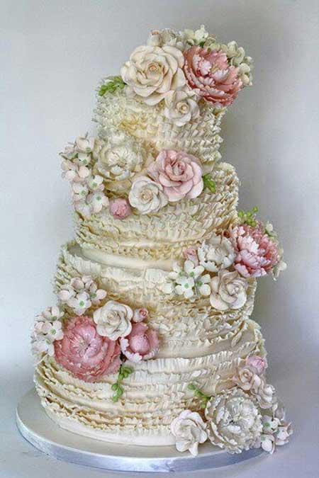 مدل کیک عروسی - سری سوم
