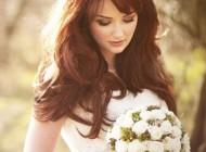 مدل آرایش موی هالیوودی در جشن عروسی