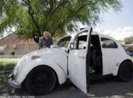 عکسهای جالب از زندگی مرد 83 ساله در فولکس 47 ساله