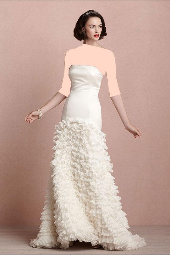 لباس عروس مدل های متنوع کوتاه و بلند