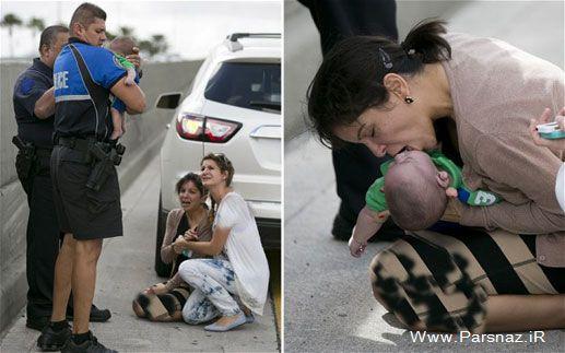 تنفس مصنوعی جان نوزاد 5 ماهه را در نجات داد (عکس)