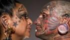 اقدام عجیب یک زوج با خالکوبی روی بدن (+عکس)