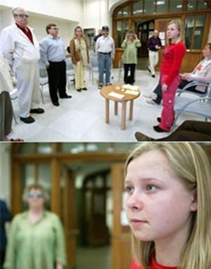 دختر روسی می تواند داخل بدن انسان را ببیند +عکس