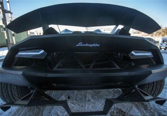 تبدیل اتومبیل ولوو به یک لامبورگینی زیبا +عکس