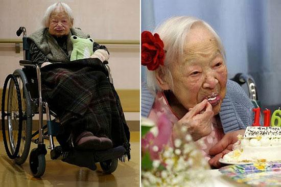 پیرترین زن بیوه در دنیا جشن تولد گرفت (عکس)