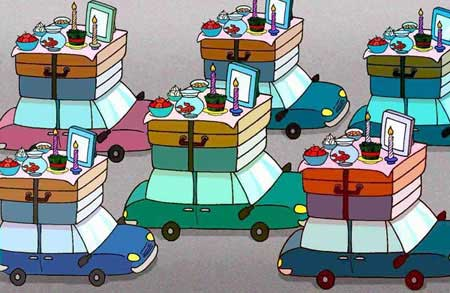 کاریکاتورهای جالب و دیدنی مخصوص عید نوروز