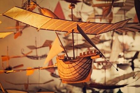 ساخت نخستین کشتی پرنده غول آسا در جهان (عکس)