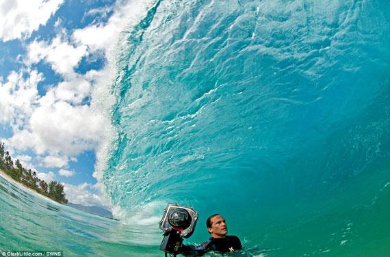 عکسهای شگفت انگیز از موج های دریا